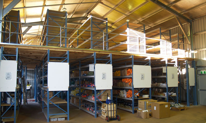Industrial Unit Mezzanine