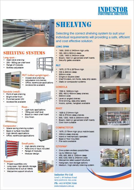 Shelving Catalogue