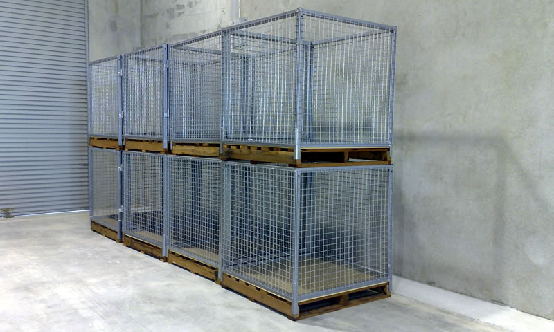 Manufactured Pallet Cages