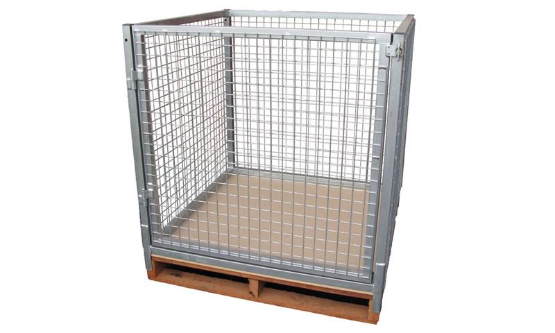 Slip Over Pallet Cages