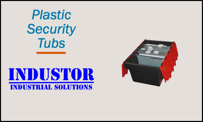 Plastic Security Tubs
