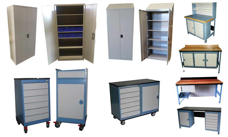 Industrial Cupboards, Benches and Workstations