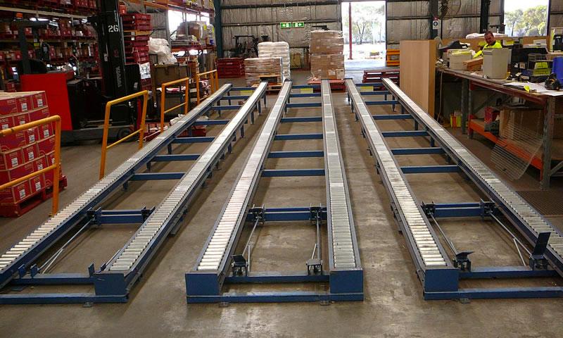 Pallet Flow Conveyors